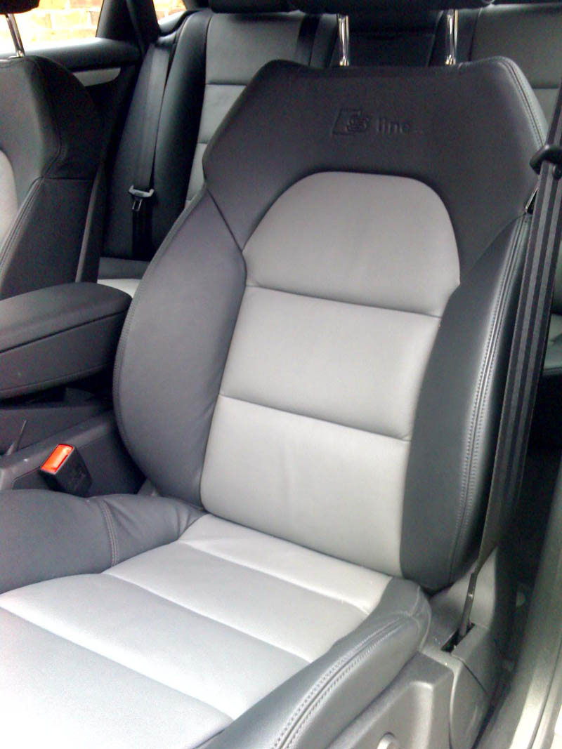 Audi Leather Interior All Real Leather Detailing World